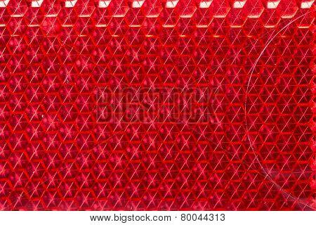 Retroreflector texture