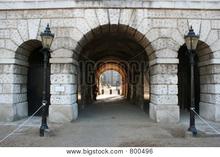 Horse guards parade arch