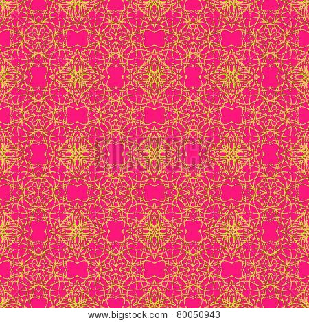 Fantasy abstract seamless pattern
