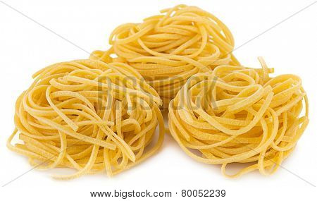 Heap of Spaghetti Pasta