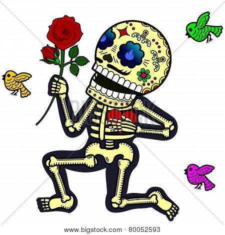 Funny skeletons_Crazy in love