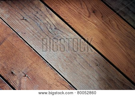 Old wood siding