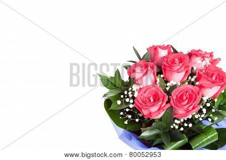 Bouqet Of Red Roses For Valentines Day