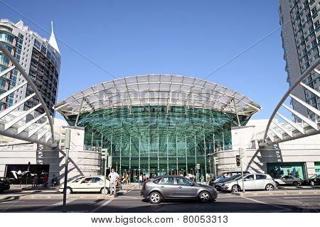 Entrance To The Shopping Center Vasco Da Gama, Lisbon