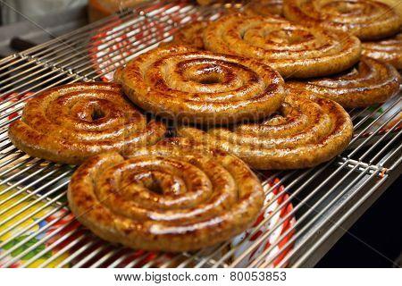 Sai Aua (notrhern Thai Spicy Sausage )