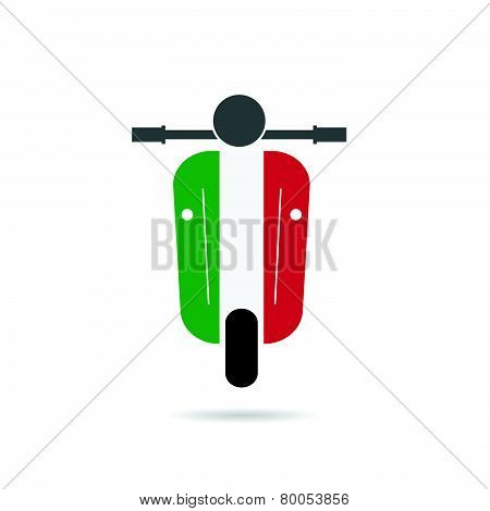 Scooter Italy Vector