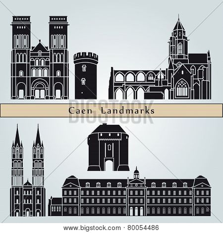 Caen Landmarks And Monuments