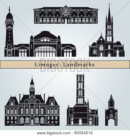 Limoges Landmarks And Monuments