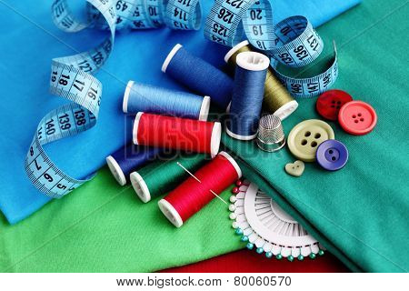 all you need to have fun - sewing tools