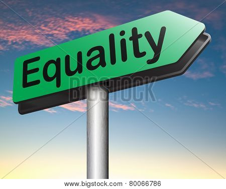 equality dont discriminate and solidarity equal rights and opportunities no discrimination