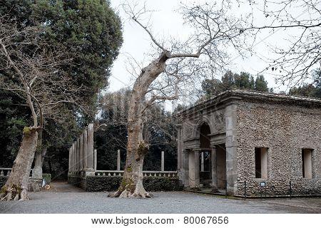 Old Hunting Loggia Villa Lante Bagnaia Italy