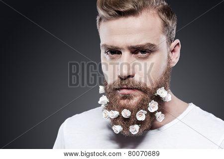 Flowers In My Beard.