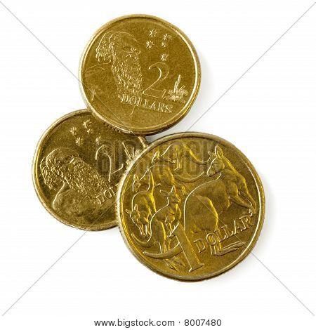 Monedas de australianas