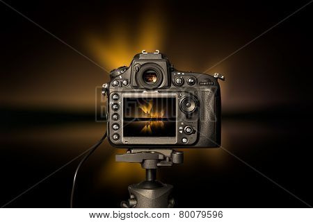 Digital Camera The Night View