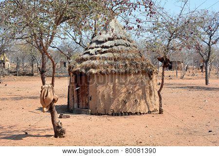 Himba house.