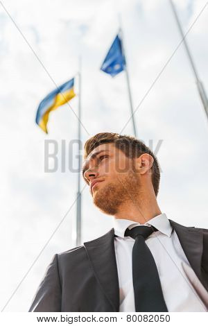 Ukrainian Businessman.