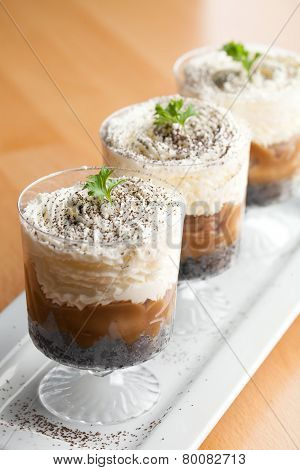 Banana Caramel Parfaits