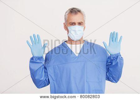 Confident Surgeon.