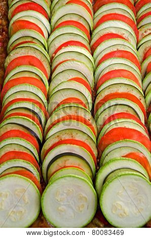 Delicious Food Ratatouille