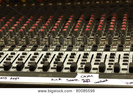 Soundboard with labels