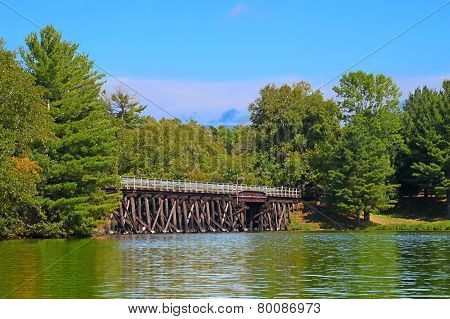 Bearskin State Trail Minocqua Wisconsin