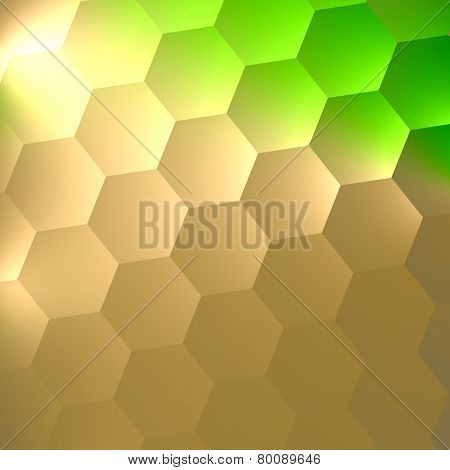 Abstract texture background for your design. Vibrant green and electric light on white. Fantasy.