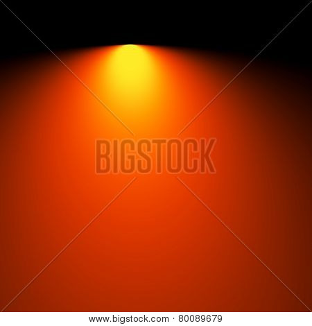 Soft blurred rays of light background. Electric lighting effect. Simple business card template.