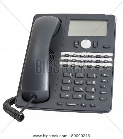 Voip Phone Isolated On White Background