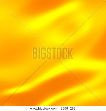 Gold background warm yellow color tone. Abstract art screensaver. Silk texture. Golden satin velvet.