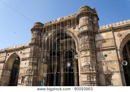 Jama Masjid Mosque In Ahmedabad