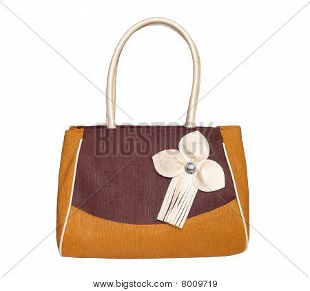 Shopping bag of jute fiber
