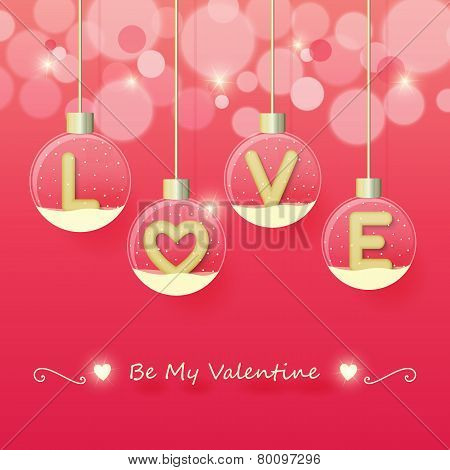 Love Valentine's Day Background