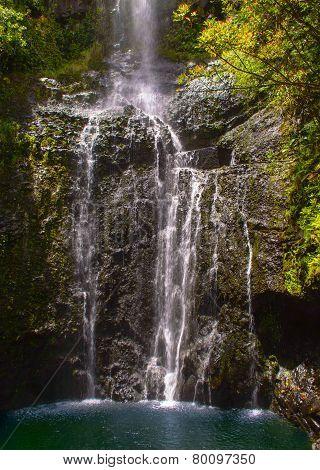 Maui Tropical Waterfall