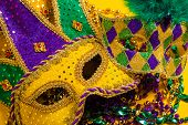 picture of carnivale  - A group venetian - JPG