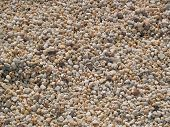 Textures of white small stones poster