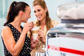 picture of latte  - Two girls - JPG