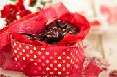 stock photo of valentine candy  - Present for Valentine - JPG