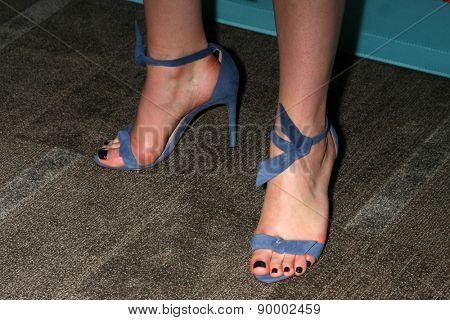 LOS ANGELES - MAY 5:  Ruth Wilson (shoe detail) at the Showtime's