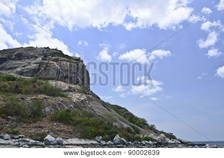 Rock Mountain On A Sea,huahin Thailand