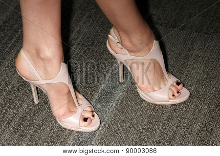 LOS ANGELES - MAY 5:  Julia Goldani Telles (shoe detail) at the Showtime's