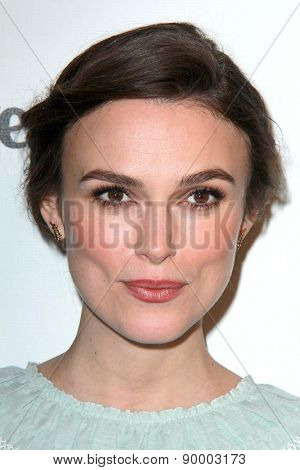 LOS ANGELES - JAN 11:  Keira Knightley at the The Weinstein Company / Netflix Golden Globes After Party at a Beverly Hilton Adjacent on January 11, 2015 in Beverly Hills, CA