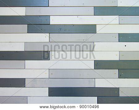 Gray shades wood lath wall background