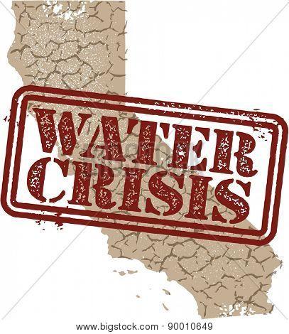 California Water Crisis Stamp