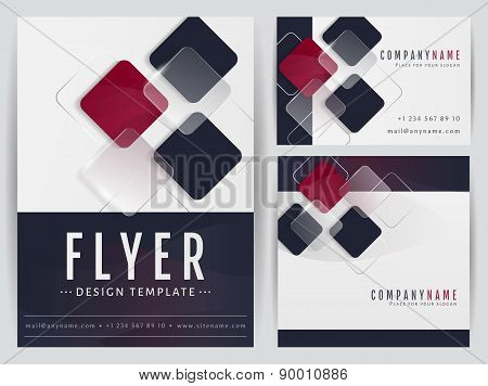 Corporate Identity Templates. Vector Set.