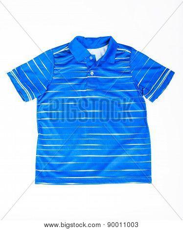 T-shirt polo blue