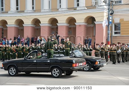 Rehearsal Of Military Parade