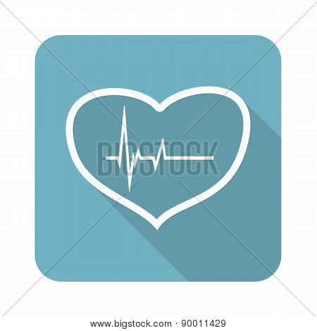 Beating heart icon