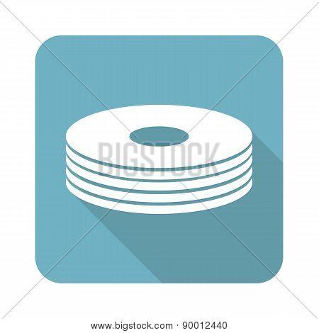 Disc pile icon