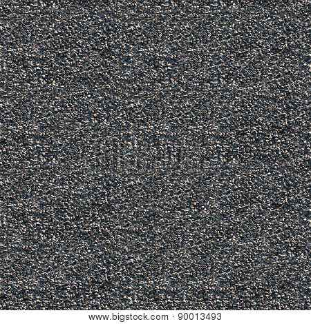 Macadam With Asphalt Seamless Background