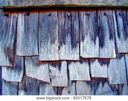 Wooden Shingle Tiles